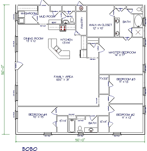 Tri county builders pictures and plans tri county builders Barn house plans two story