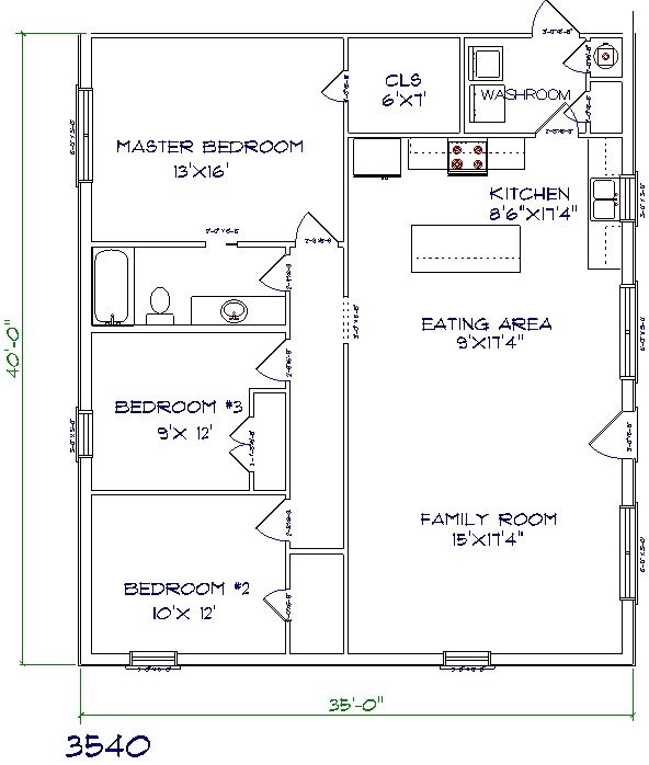 house plans 35' x 40' ~ interior design process steps