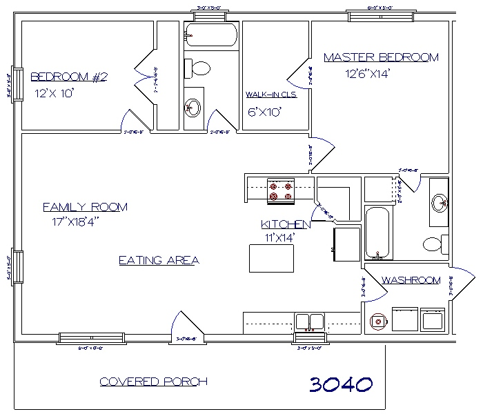 Barndominium floor plans 30x40 with 2nd floor joy studio for 30x40 floor plan